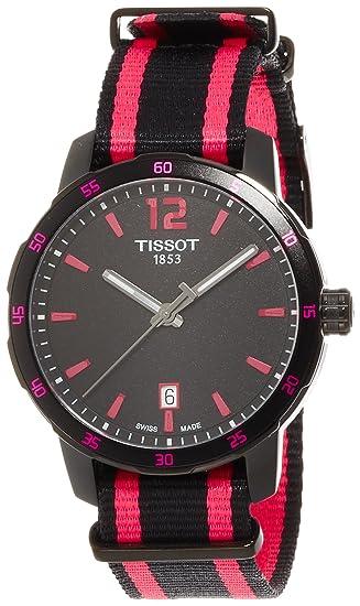 Tissot T0954103705701 T-Sport Quickster NATO Reloj Hombre: Amazon.es: Relojes