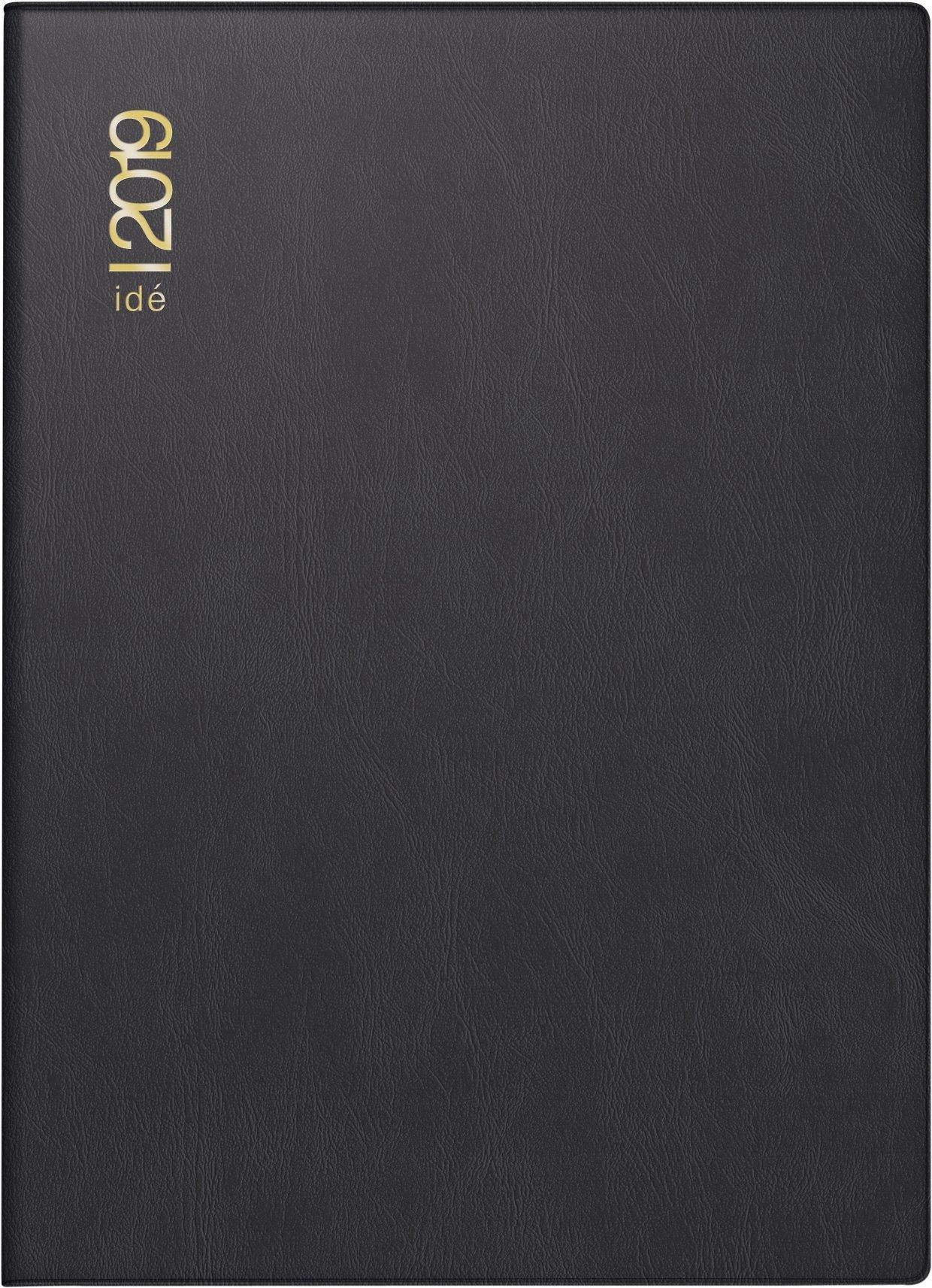 rido-id-701300290-taschenkalender-perfect-technik-i-2-seiten-1-woche-100-x-140-mm-kunststoff-einband-schwarz-kalendarium-2019