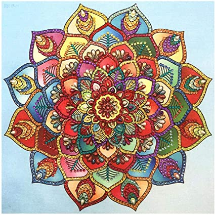 5D DIY Diamond Painting Special-shaped Cross Stitch Craft Kit Home Decor Gift