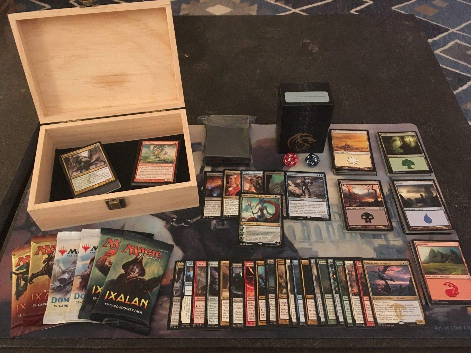 Ultimate Magic The Gathering Gift Box (Planeswalker, Mythics, and Much More!) by MTG Decks & More (Image #1)