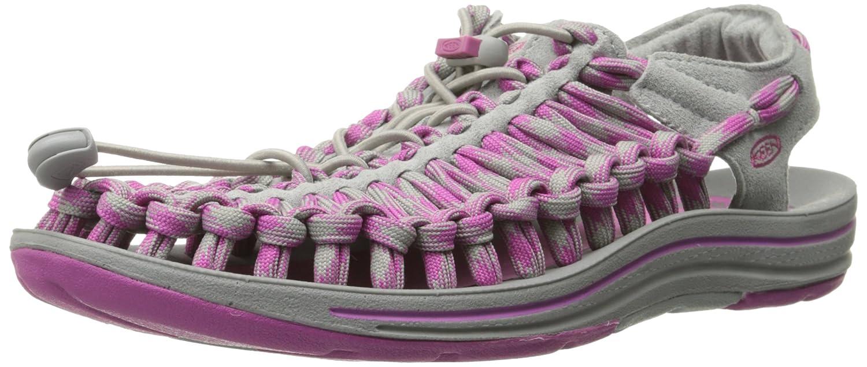 KEEN Women's Uneek 8MM Sandal B00RLWMS4G 6 B(M) US|Neutral Gray/Dahlia Mauve