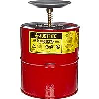 JustRite 10308Acero Desatascador Seguridad puede con latón