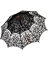 Remedios(19 colors) Handmade Wedding Embroidery Cotton Lace Sun Parasol Umbrella