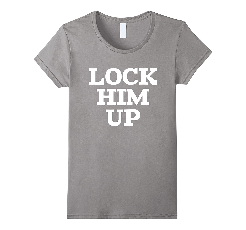 Lock Him Up Anti Trump Impeachment Tee Shirt