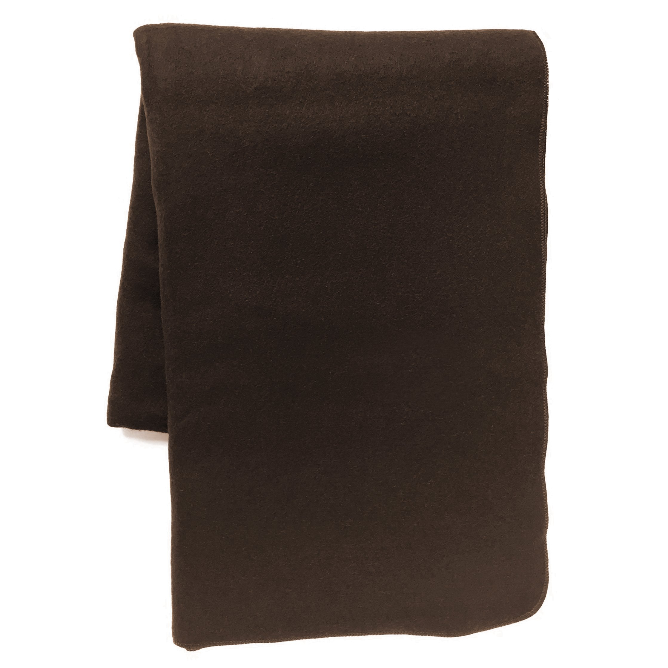 EKTOS 80% Wool Blanket, Brown, Light & Warm 3.7 lbs, Large Washable 66''x90'' Size, Perfect for Outdoor Camping, Survival & Emergency Preparedness Use by EKTOS (Image #6)