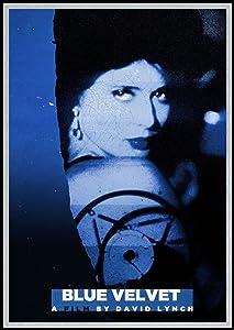 Blue Velvet Fridge Magnet David Lynch Cult Classic Movie Poster Canvas Print 3.5 x 5