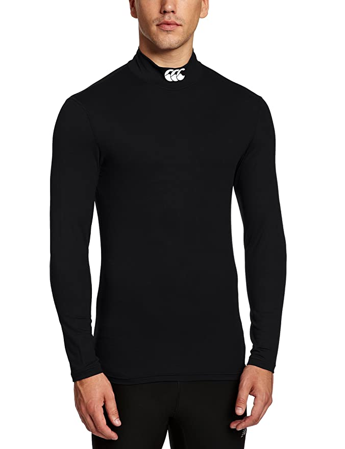 Amazon.com: Canterbury Cold Long Sleeve Baselayer Top - XX Large - Black: Clothing