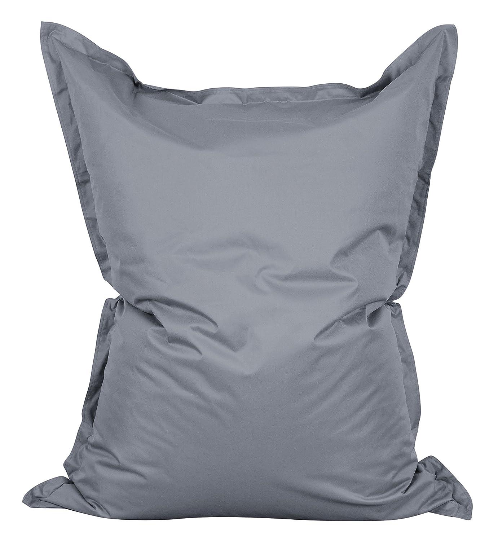 Lumaland Poltrona sacco Pouf Puff XXL 380l Imbottitura innovativa 140 x 180 cm per interni ed esterni colore grigio Amazon Casa e cucina