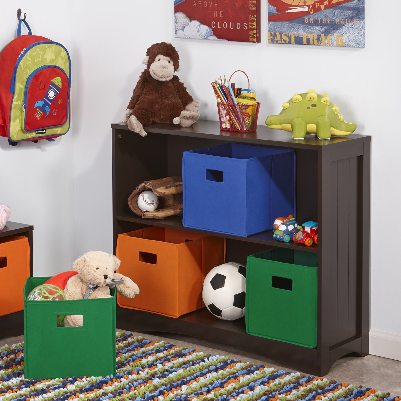 riverridge kids horizontal bookcase espresso kitchen