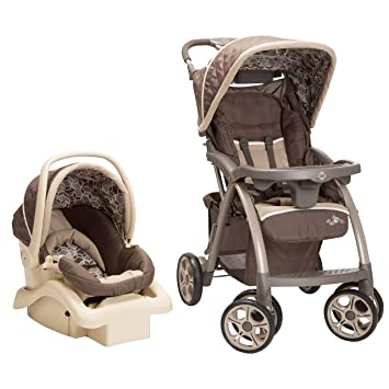 Safety 1st Saunter Luxe LC 22 Travel System Stroller Cubes