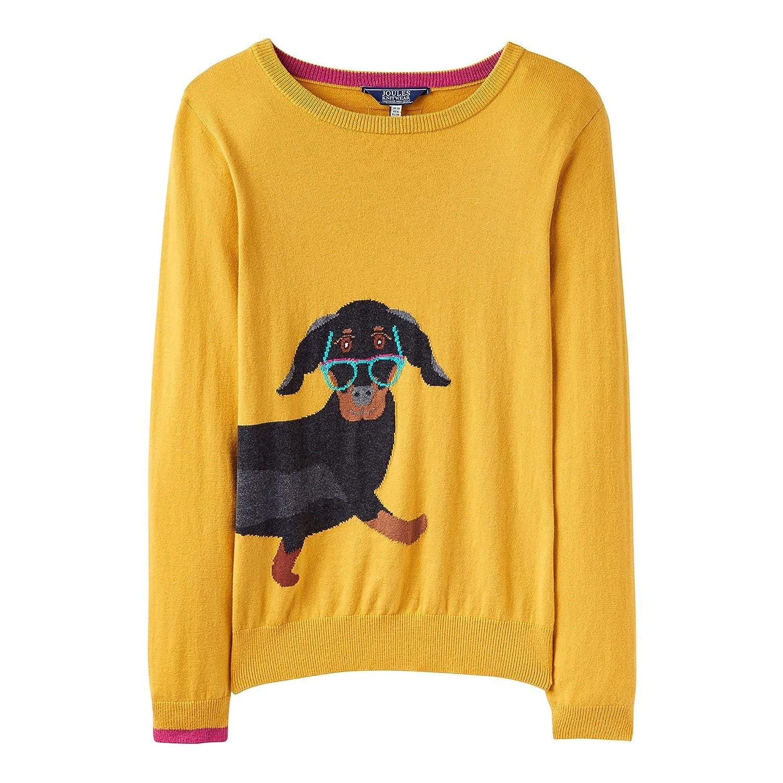 Knitted Graphic Womensladies Jumper Intarsia Miranda Joules Slimmer iuXPkOZ