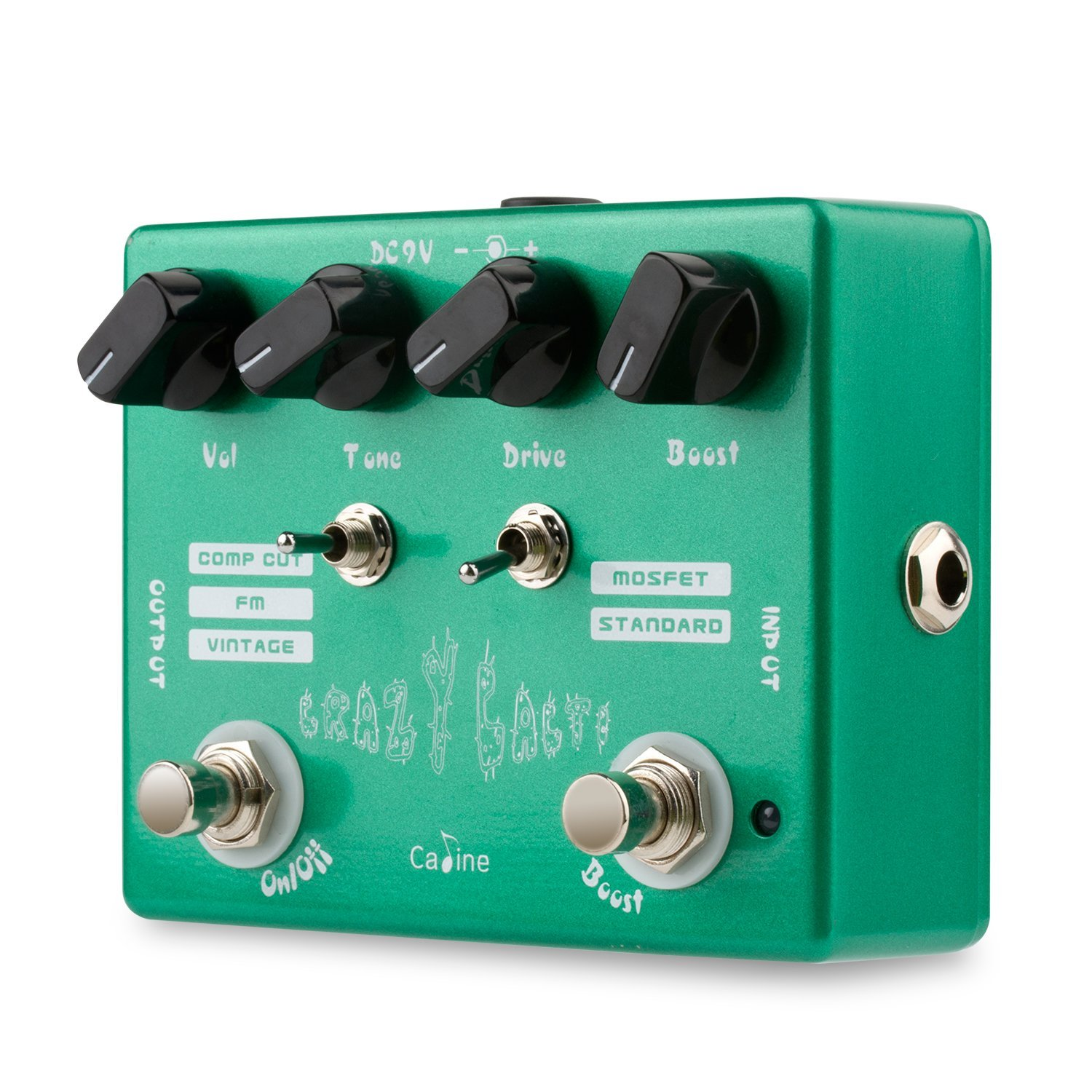 Caline CP-20''Crazy Cacti'' Overdrive Guitar Effect Pedal