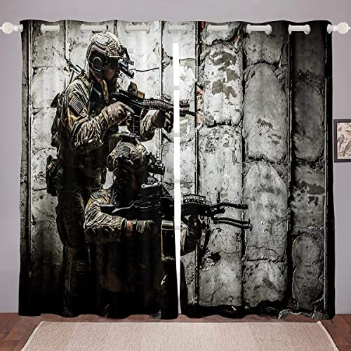 Soldier Contemporary Curtain