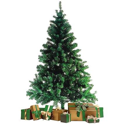 Weihnachtsbaum Tannenbaum.Wohaga Künstlicher Weihnachtsbaum Tannenbaum Inklusive Christbaumständer 180cm 600 Spitzen Weihnachtsdekoration Künstliche Tanne