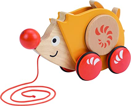 Wooden Push Along Orange Tree Toys Rose Mouse