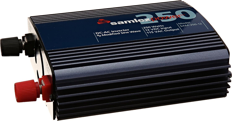 Samlex SAM-250-12 12-Volt 250-watt DC to AC Inverter