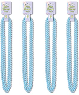 Mint Green Beistle S50569MGAZ4 24 Piece Baby Shower Beads 33