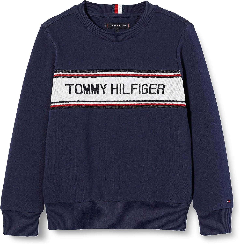 Tommy Hilfiger Jungen Intarsia Sweatshirt Kapuzenpullover
