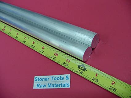 "4 Pieces 1/"" ALUMINUM 6061 ROUND ROD 12/"" long SOLID BAR 1.00/"" OD New Lathe Stock"