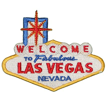 Amazon Welcome To Fabulous Las Vegas Embroidered Iron On Or Sew
