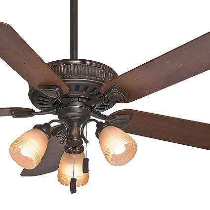 Casablanca 54 traditional ceiling fan in onyx bengal with a 3 light casablanca 54quot traditional ceiling fan in onyx bengal with a 3 light toffee glass aloadofball Gallery