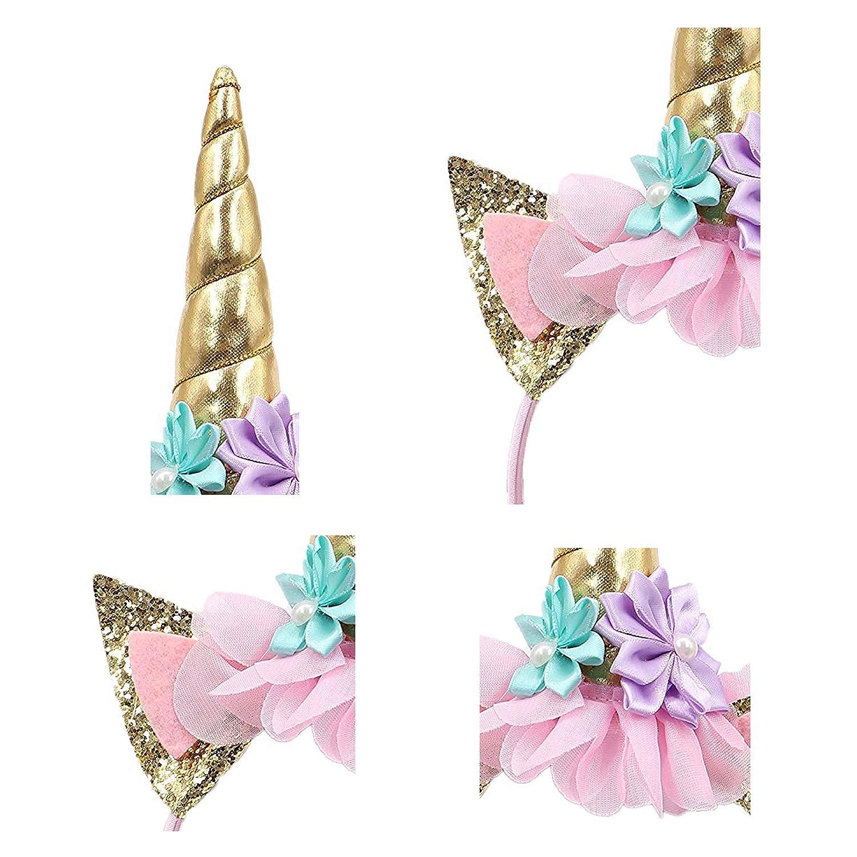 Unicorn Headband for Girls Perfect Unicorn Party Fantasy Favor