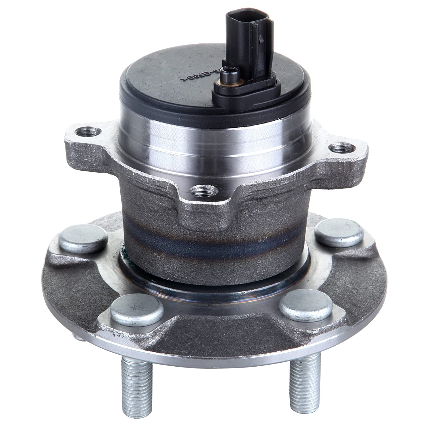 ECCPP Replacement for Wheel Bearing and Hub Assembly for Volvo C30 2006-2012//S40//V50 2005-2011 Wheel Hubs 5 Lugs W//ABS 512411x2