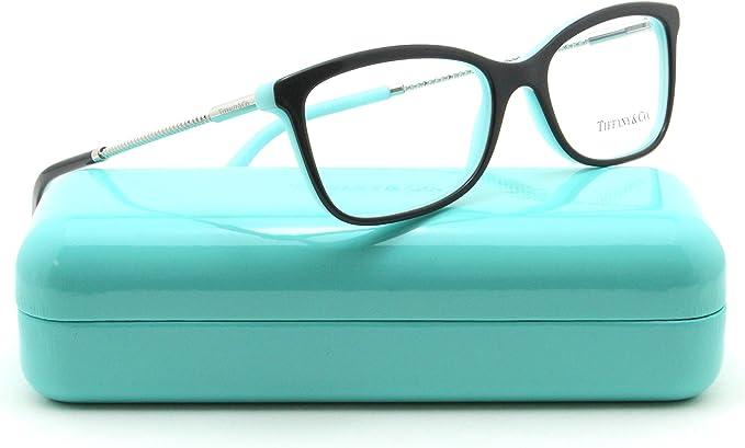 Amazon Com Tiffany Co Tf 2169 F Women Eyeglasses Rx Able Frame Asian Fit Black 8055 53 Clothing