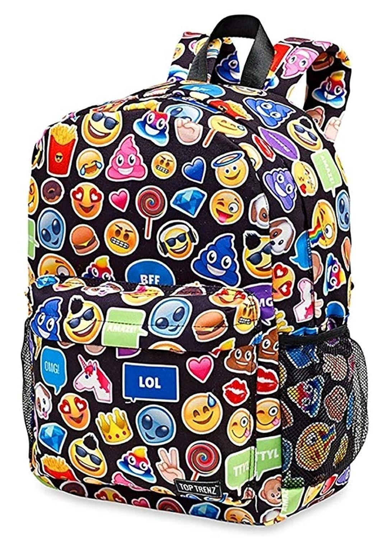 Top Trenz Inc 2 Zipper Scented Backpack