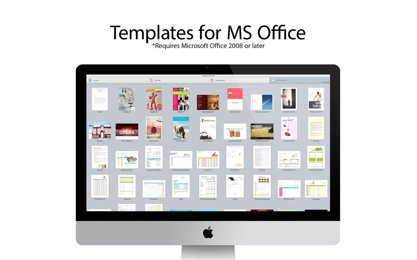 amazon com templates for ms office software