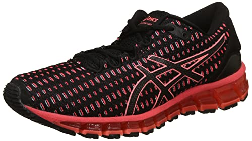 124c7858a ASICS Women s Gel-Quantum 360 Shift Black Flash Coral Black Running Shoes -