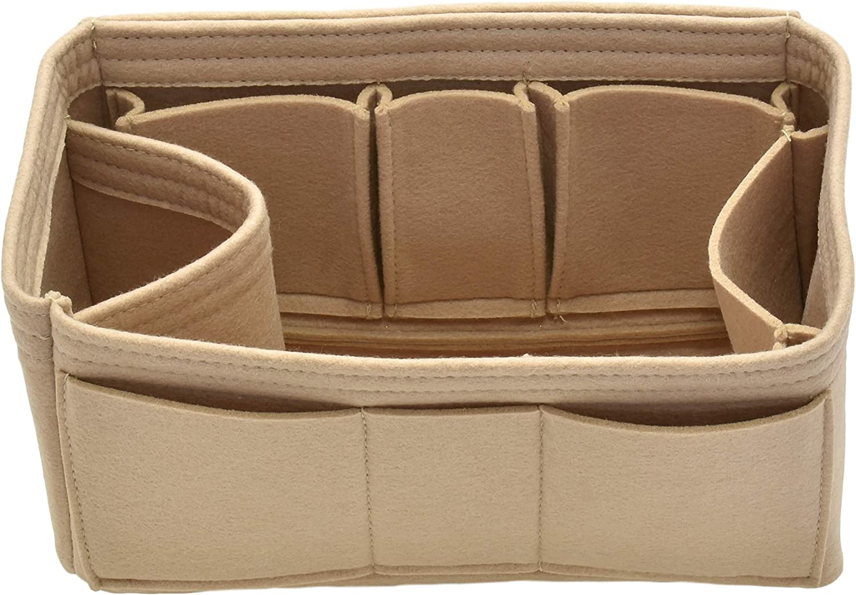 Handbag Organizer Insert - Felt Storage Shaper Bag for Handbag Tote Purse
