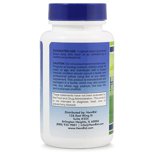 Amazon.com: HemRid Plus – Obtenga un alivio de hemorroides ...