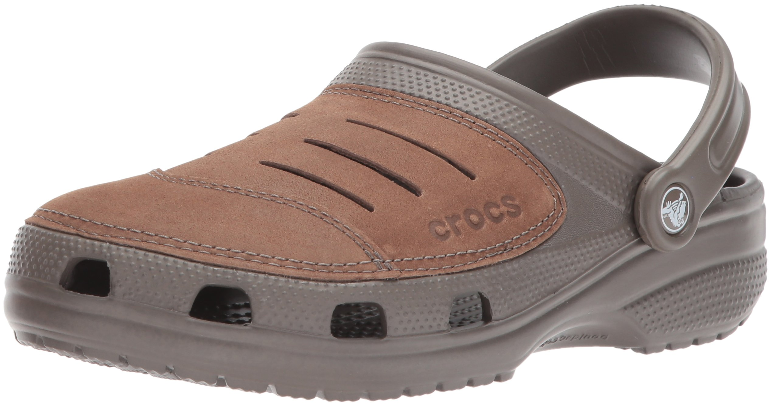 Crocs Men's 11038 Bogota Clog,Chocolate/Chocolate,11 M US by Crocs