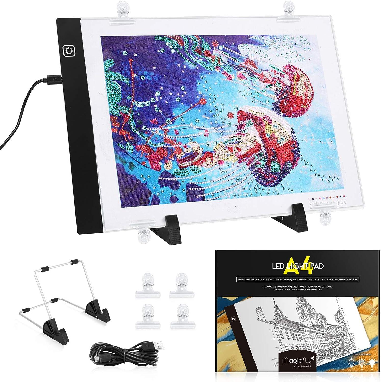 Magicfly A4 - LED Licht-Pad A4 LED, Dimmbar