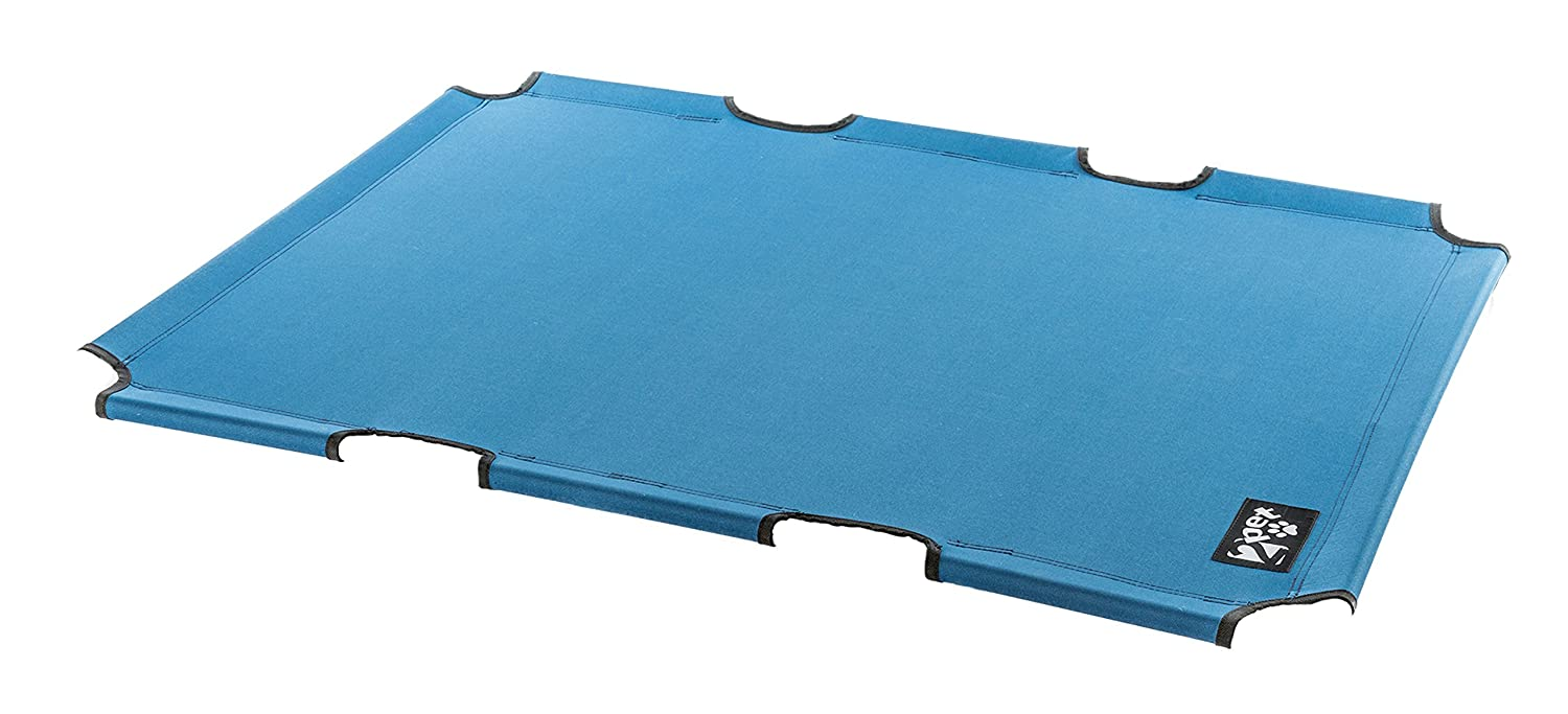 Elevated Pet Bed by 2pet replacement fabric for EPB06 Extra Large Blue