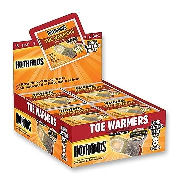 HeatMax HotHands Toe Warmers, 40 Pairs 1 set