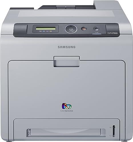 Samsung Impresora Laser Color Clp-670Nd A4 24Ppm 2400Dpi Red USB 2 ...