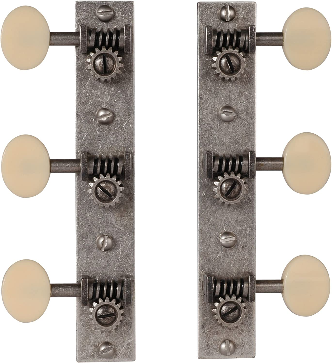 Solid Peghead Short post bright nickel Golden Age Restoration Tuners