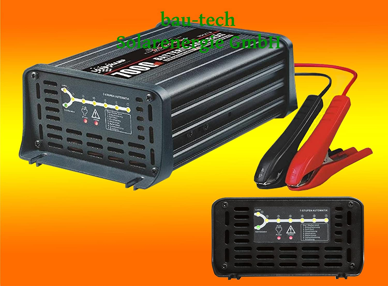 LOADCHAMP 12Volt / 12Amper vollautomatisches Batterieladegerä t von bau-tech Solarenergie GmbH BALA12A