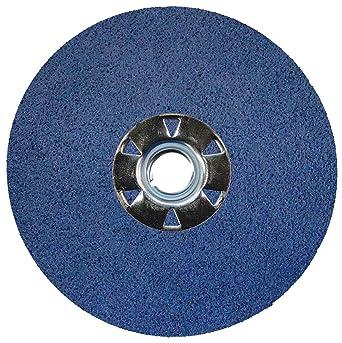 """50-7/"""" Zirconia Resin Fiber Sanding Grinding Disc 36 Grit"""
