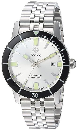 Zodiac Reloj Super Sea Wolf 53 zo9255 hombre