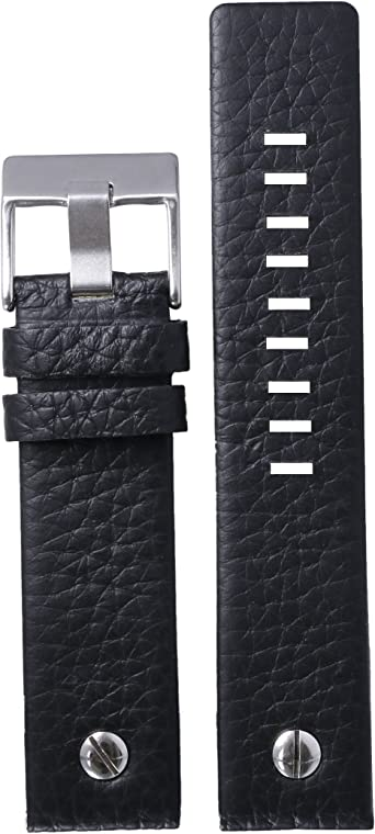 cinturini orologi in pelle nera 24mm amazon