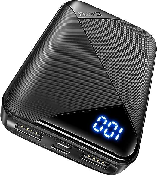 Amazon.com: Cargador portátil EAFU, pantalla LED de 10000 ...