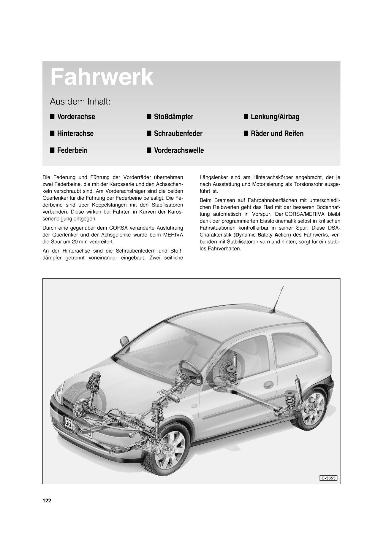 Opel Corsa C 9/00 bis 9/06: Opel Meriva 5/03 bis 4/10, So wird´s ...