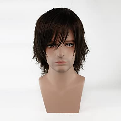 crazycatcos daryl dixon cosplay wig tv costume short hair the walking dead halloween costume wig