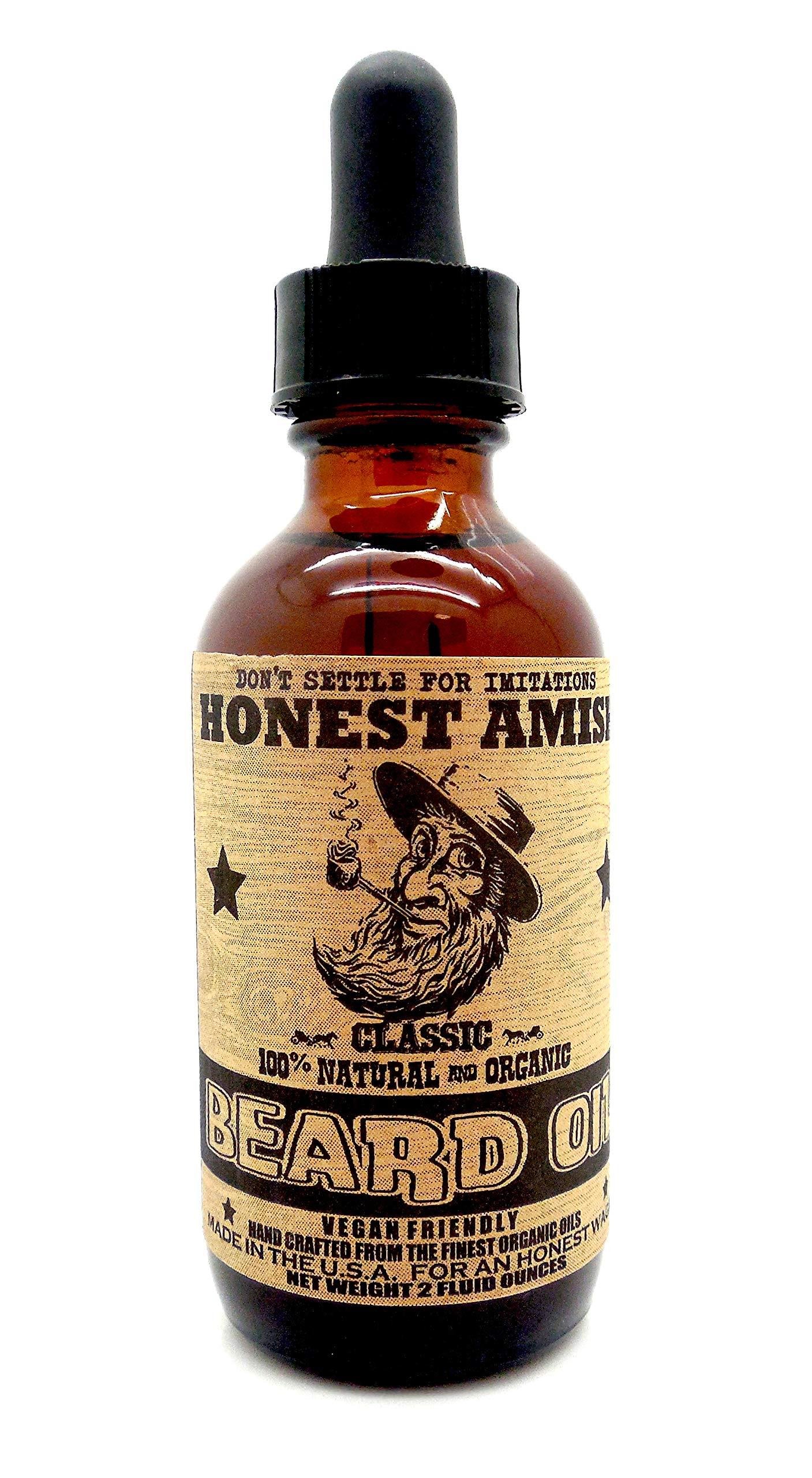 Honest Amish - Classic Beard Oil - 2 Ounce by Honest Amish