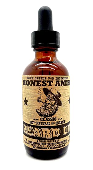 Honest Amish - Classic Beard Oil - 2oz by Honest Amish