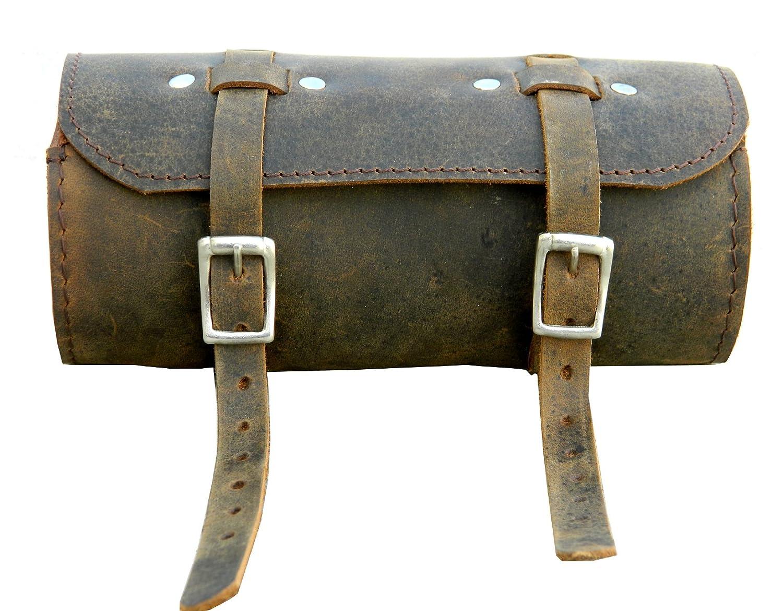 Selle de vélo Sac à outils en cuir Saddle Tan