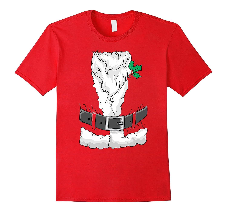 Santa Claus Costume Suit Christmas T-Shirt